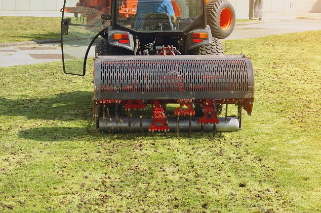 The Benefits of Aerating Your Commercial Lawn