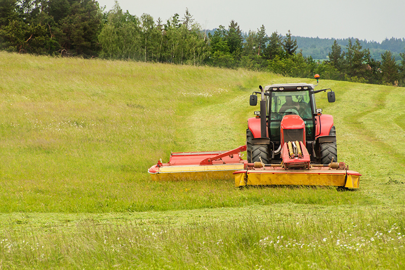 Tractor Mowing: The Lawn Care Solution for Commercial Property